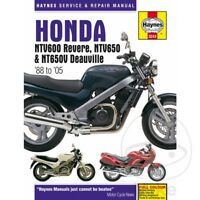 Honda NT 650 GT Hawk/Bros 1988 Haynes Service Repair Manual 3243