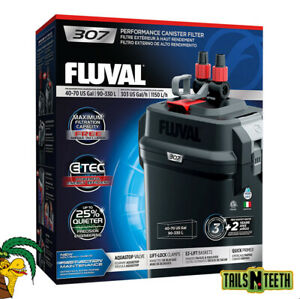 Fluval 307 Performance Canister Filter - for Aquariums Up To 70 US Gallons