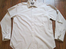 "Mens DUFFER ST GEORGE Long Sleeved Shirt Size L / XL 16.5"" 42cm IMMACULATE"