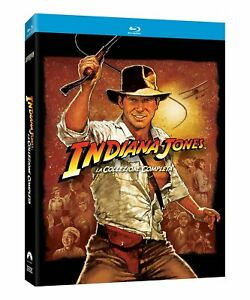 Blu Ray INDIANA JONES - Collection 1-4 (Steelbook) (5 Blu-Ray) .....NUOVO