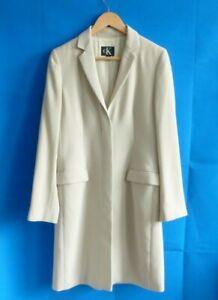 Calvin Klein Ladies Dress Coat  Stone Colour Size EU40 UK12
