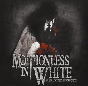 MOTIONLESS IN WHITE-WHEN LOVE MET DESTRUCTION CD NEUF