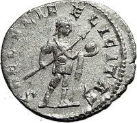 GORDIAN III 242AD Rome Authentic Genuine Ancient Silver Roman Coin Globe i59157