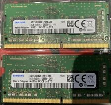 SAMSUNG 16GB 2X8GB DDR4 PC4-21300 2666MHZ 260-PIN MEMORY KIT M471A1K43CB1-CTD