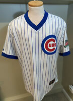 Chicago Cubs Majestic Cooperstown 100th Anniversary Replica Jersey Size L Large