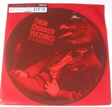 "THEM CROOKED VULTURES - Mind Eraser10"" PICTURE VINYL Queens Of The Stone Age RAR"