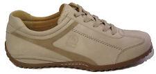 GABOR Schuhe Sneaker Halbschuhe Schnürschuhe beige Leder Wechselfußbett NEU