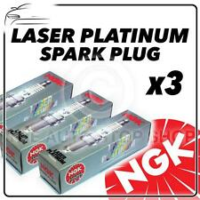 3x NGK SPARK PLUGS PART NUMBER pfr7z-tg STOCK NO. 5768 NUOVO PLATINO sparkplugs