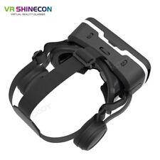 VR Shinecon 6.0 Plus 3D Headset Virtual Reality Goggles w/Detactable Earphone