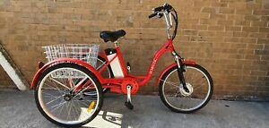 "Jorvik Electric Trike -Red - 17"" Frame - 48 hours delivery"