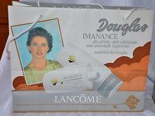 Douglas Parfum Tüte EinkaufsTasche Werbung 1992 LANCOME Isabella Rossellini