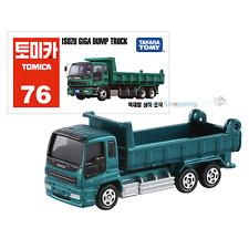 Takara Tomy Tomica #76 Isuzu Giga Dump Truck Diecast Car Vehicle Toy