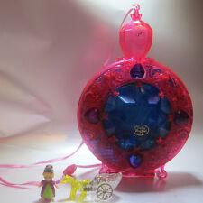 Mini Polly Pocket Starshine Palace 100% Komplett mit Licht Bluebird