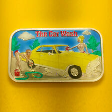 THE CAR WASH ENAMELED SILVER 1 OZ BAR BY CMG MINT ONLY 60 MADE ULTRA RARE