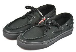 Vans Zapato Del Barco Unisex Sneaker Canvas Black VN-0XC3186