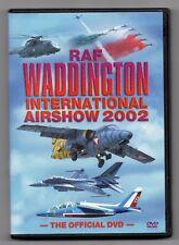 RAF Waddington International Airshow 2002 (DVD, 2002)  Region Free