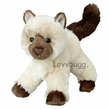 "Himalayan Siamese Plush Kitty Cat American Girl for 18"" Doll Pet Lovv Lovvbugg!"