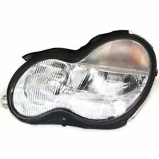 For C32 AMG 02-04, Driver Side Headlight, Clear Lens
