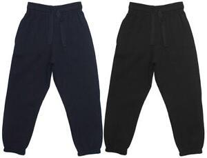 Filles Cordon Garçons Jogging Pantalon École de Survêtement 3 Pour 16 Ans