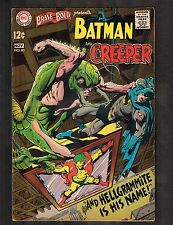 Brave and the Bold #80 ~ Neal Adams early Creeper ~ (7.5) WH