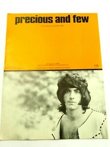 Precious and Few by Walter D. Nims Warner Bros. Sheet Music 1972