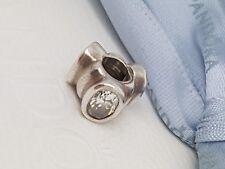 Pandora Clear Bonsai Cats Eye Oval Lights charm 925 ALE 790289CZ