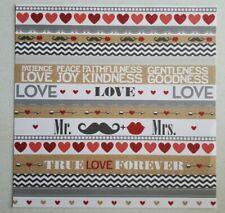 Me & My Big Ideas 12x12 Cardstock Scrapbook Craft Paper 2 SHTS - Mr. & Mrs. 4Eve