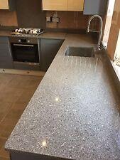 Platino Gris | Quartz | Sample | Kitchen Worktops