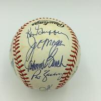 1975 Cincinnati Reds W.S. Champs Team Signed Baseball Big Red Machine JSA COA