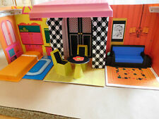 1968 Barbie Family House & Furniture by Mattel