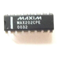 MAX202CPE Maxim  Dual Transmitter/Receiver RS-232 16-Pin PDIP