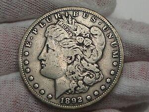 Better Date 1892-s Morgan Dollar.  #14