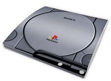 Playstation 3 SLIM Aufkleber PS3 Skin Folie Sticker Schutzfolie Retro PS One