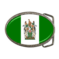 RHODESIA COUNTRY RHODESIAN NATIONAL FLAG BELT BUCKLE - GREAT GIFT ITEM