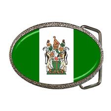 GREAT GIFT ITEM SOUTH AFRICA OLD FLAG BELT BUCKLE