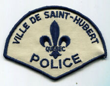 Ville De Saint-Hubert Quebec Police Patch - OLD STYLE // Canada