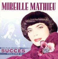 Mes Plus Grands Succes 2 [Audio CD] Mathieu, Mireille