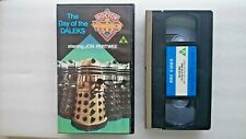 Doctor Who Day of the Daleks.... BLUE LABEL Jon Pertwee