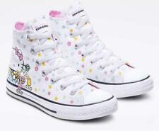 Converse All Star Hello Kitty Collaboration sneaker High cut Shoes White US 4.5