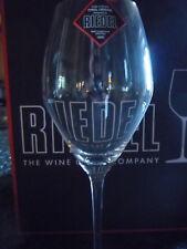 Riedel Vinum Icewine Dessert Wine Glass with Innniskillin logo on the stem