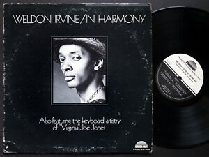 WELDON IRVINE In Harmony LP STRATA-EAST SES-19749 US 1974 SOUL JAZZ FUNK