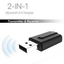 Maikouhai USB Bluetooth Receiver 3.5 Audio Transmitter 2 in 1 Adapter for TV//PC Headphone