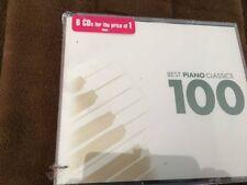 100 Best Piano Classics (CD, Feb-2005, 6 Discs, Warner Classics (USA))NEW