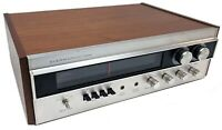 Vintage 1970s Sherwood AM/FM Stereo Receiver Model S-7100A HiFi Audiophile AS-IS