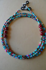 Genuine Coral, South Western Coloured Beaded Spectacle Glasses Chain