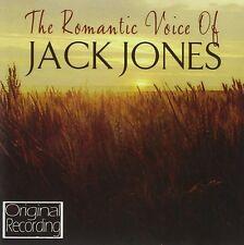 JACK JONES - ROMANTIC VOICE OF JACK JONES  CD NEUF