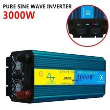 Pure Sine Wave Real Power Inverter DC12V 24V to AC 110V/220V 1600W-6000W Max