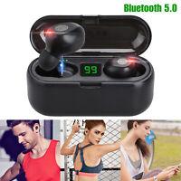 Wireless Bluetooth 5.0 Headset TWS Earphones Twins Earbuds Stereo Headphones
