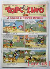 TOPOLINO GIORNALE anno 1935 N° 137 RISTAMPA ANASTATICA (allegato Topolino 1534)