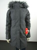 Womens The North Face TNF Defdown Parka GTX Gore Tex Winter Down Jacket - Grey